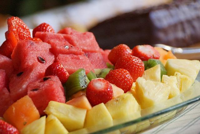 krájené ovoce