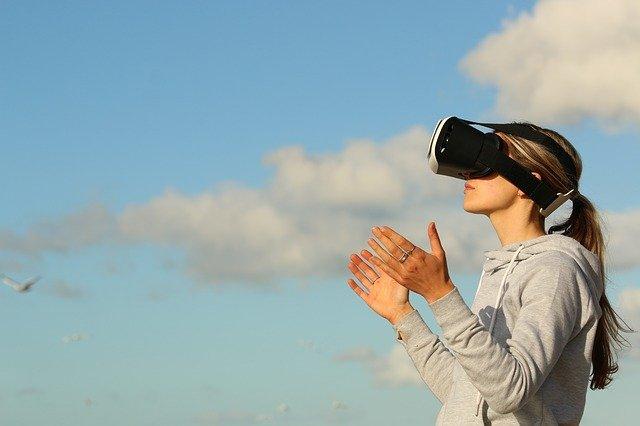 virtuální realita venku