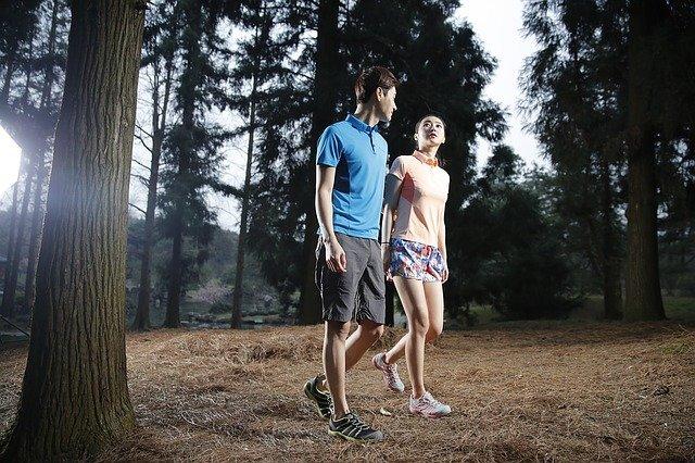 dvojice v lese