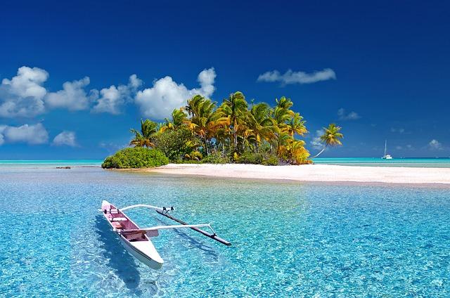 tropický ostrůvek